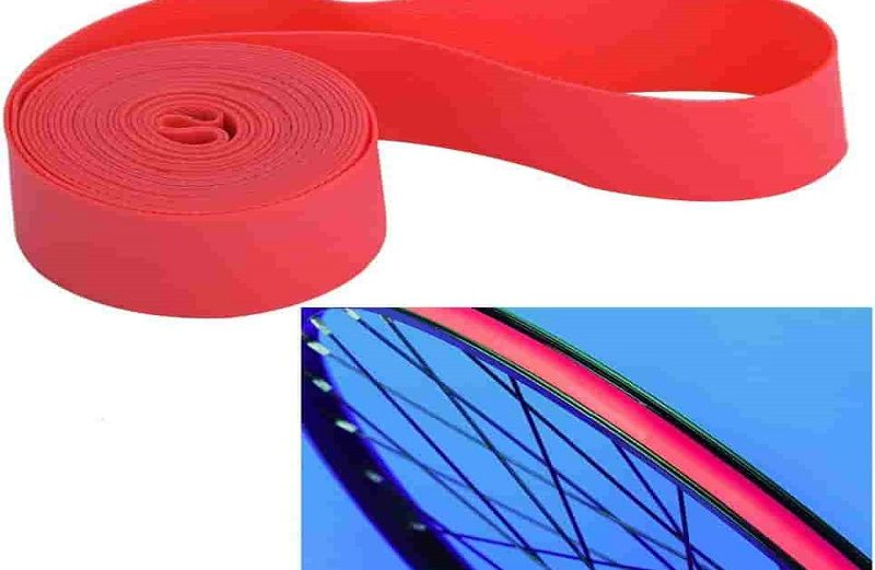 1Pair PVC Rim Tapes Strips for Mountain Bike Road Bicycle Folding Tire Cushion