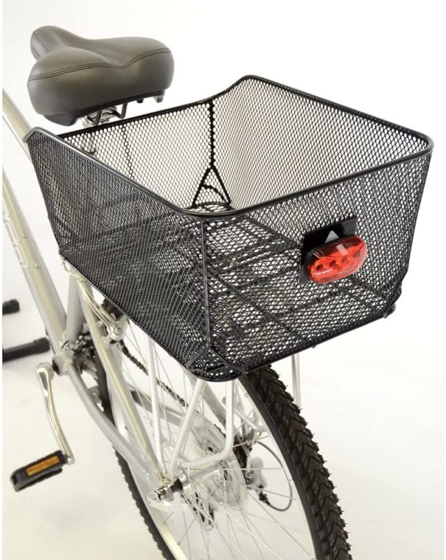 Axiom Basket Rear Ractop Market Basket Blk Mesh - 171439-01