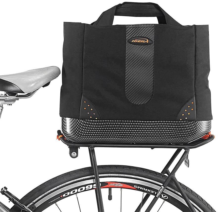 Ibera 2 in 1 Bike PakRak Insulated Cooler Trunk Bag