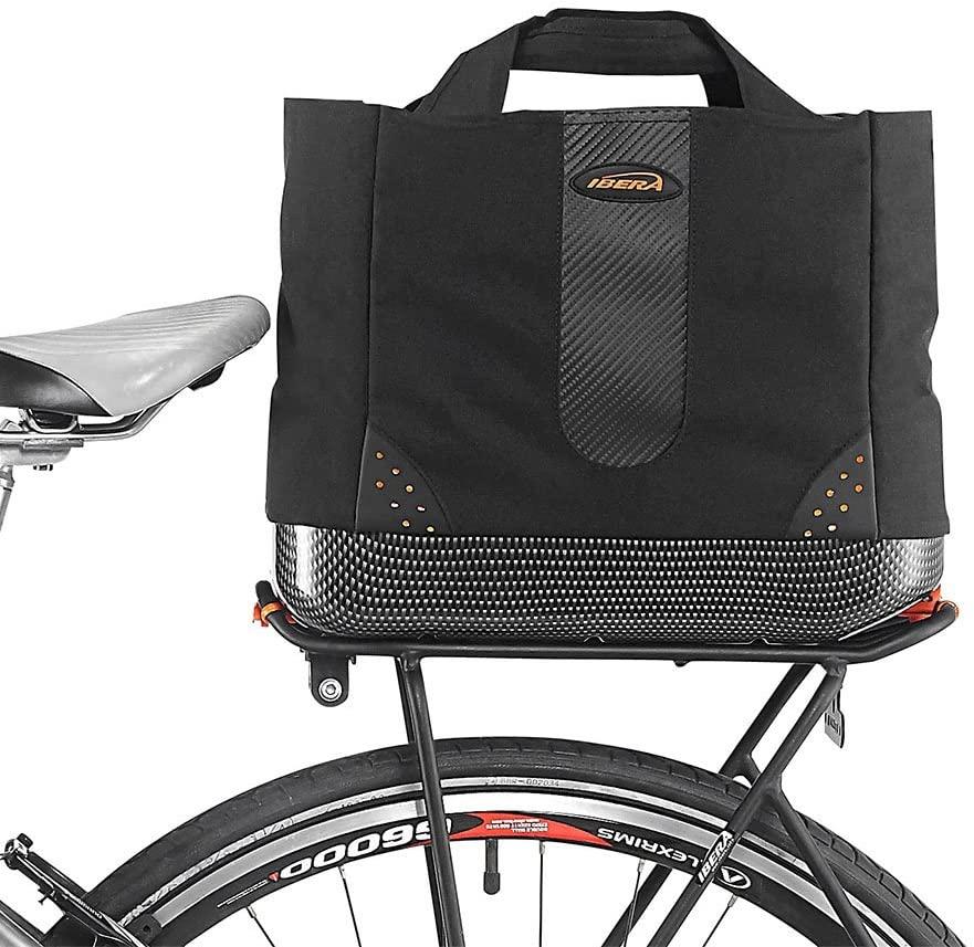 Ibera 2 in 1 Bike PakRak Insulated Cooler Trunk Bag