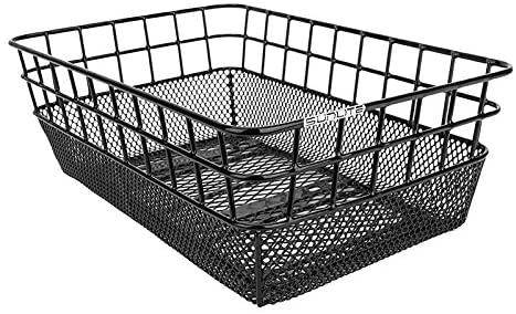 Sunlite Rack Top Wire or Mesh Basket, 10.25 x 15 x 5-inches, Black