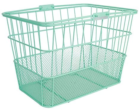Sunlite Standard Mesh Bottom Lift-Off Basket with Bracket, Green
